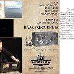 Image for the Tweet beginning: 10-11 junio BAJA FRECUENCIA - emisión desde
