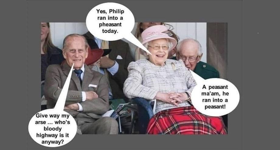 Happy 100th birthday today Prince Philip... Nearly.