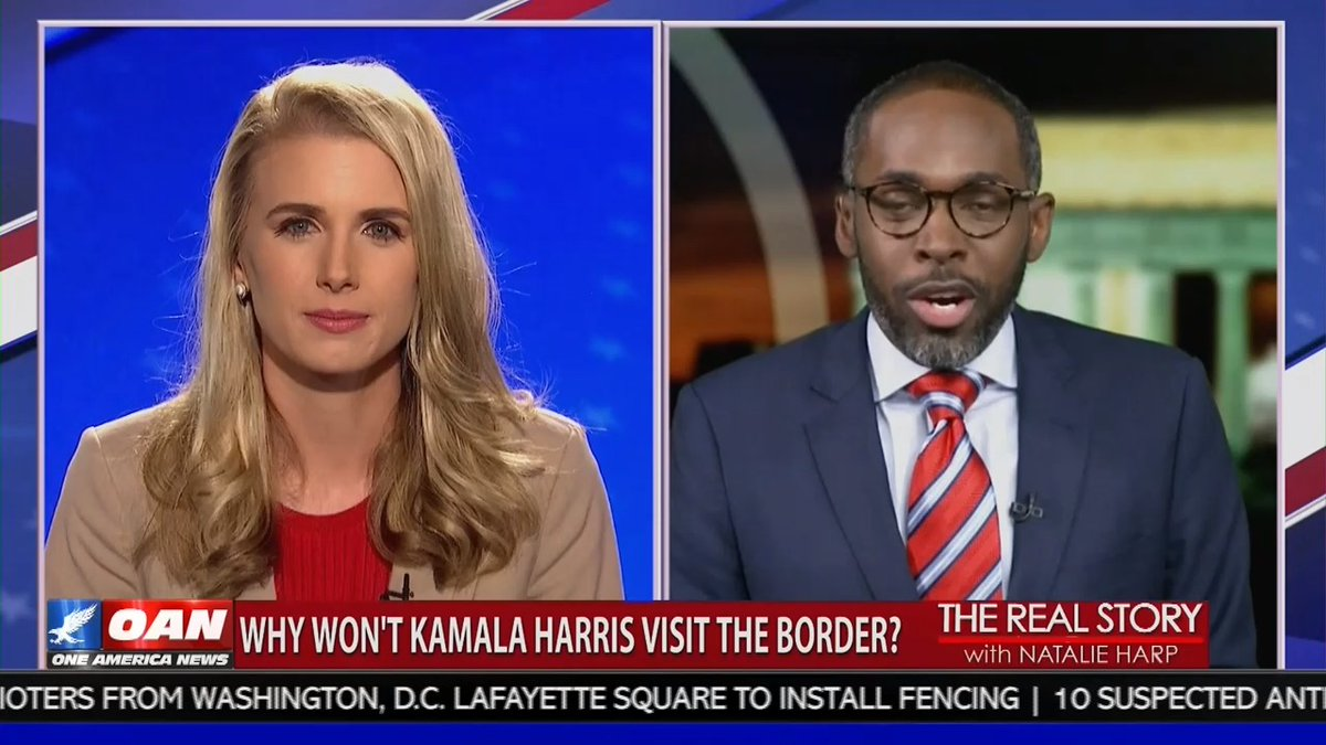 """""""There's been over 180,000 illegal immigrants arrested at the border last month. That is about a 674% INCREASE over the last year.""""—@PARISDENNARD, RNC National Spokesperson https://t.co/0R06Xhs2aH"""