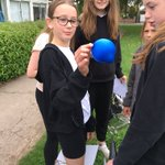 Image for the Tweet beginning: Year 6 testing out the