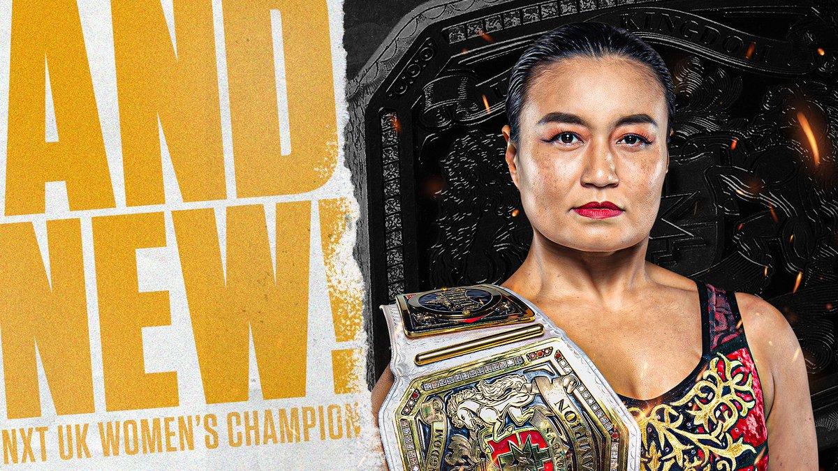 Meiko Satomura Wins NXT UK Women's Championship