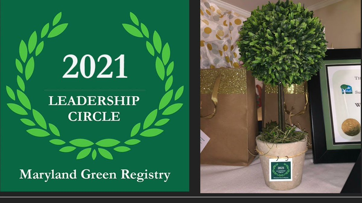 Watch @MDHealthDept accept the State Agency Energy Award at the #MdGreenRegistry Leadership #Sustainability Awards ceremony.