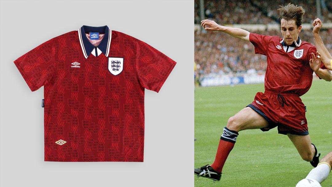 Le mie divise da calcio preferite dell'Inghilterra