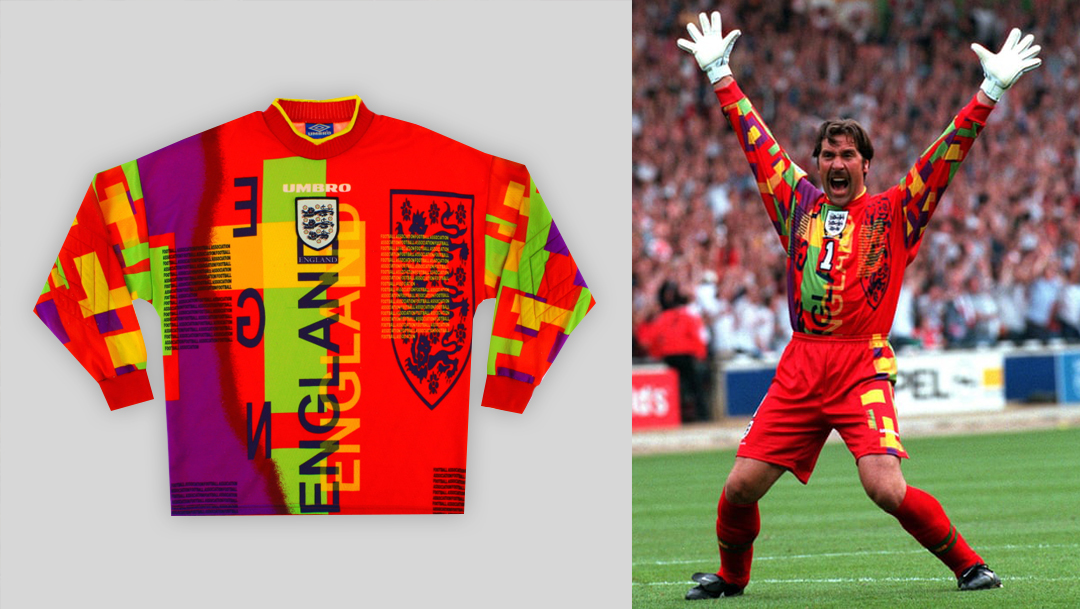 England GK 1996 by Umbro - David Seaman