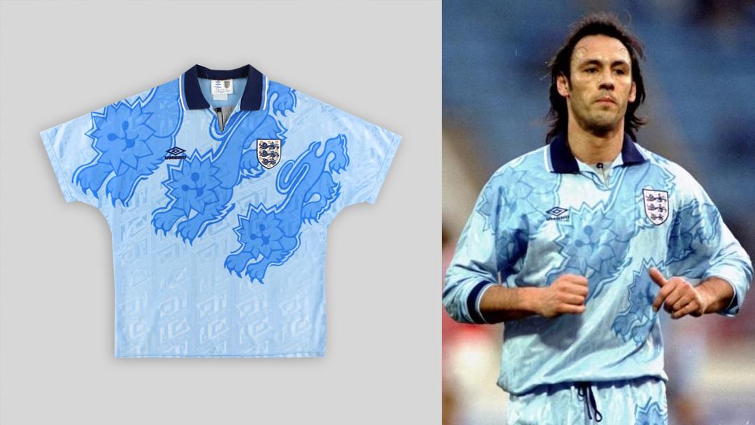 England 1992-93 Third