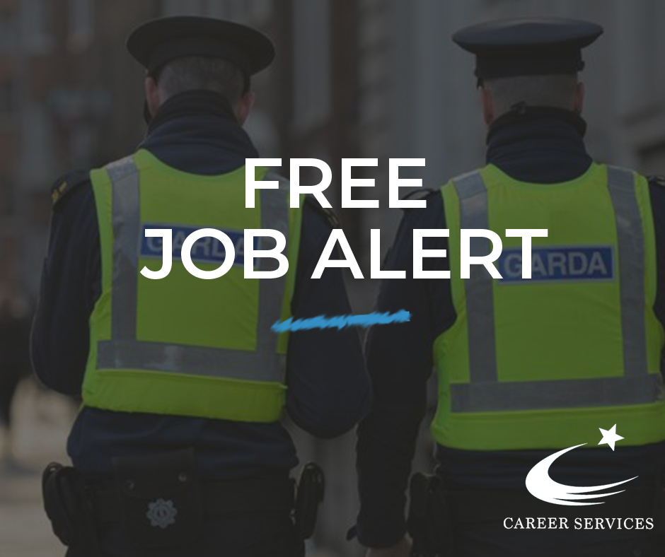 Don't forget! We offer a FREE Job Alert Service. Sign up to stay informed of the next Garda Recruitment campaign 👉 https://t.co/iq3qfVrs0f https://t.co/BSPMNyXkjU
