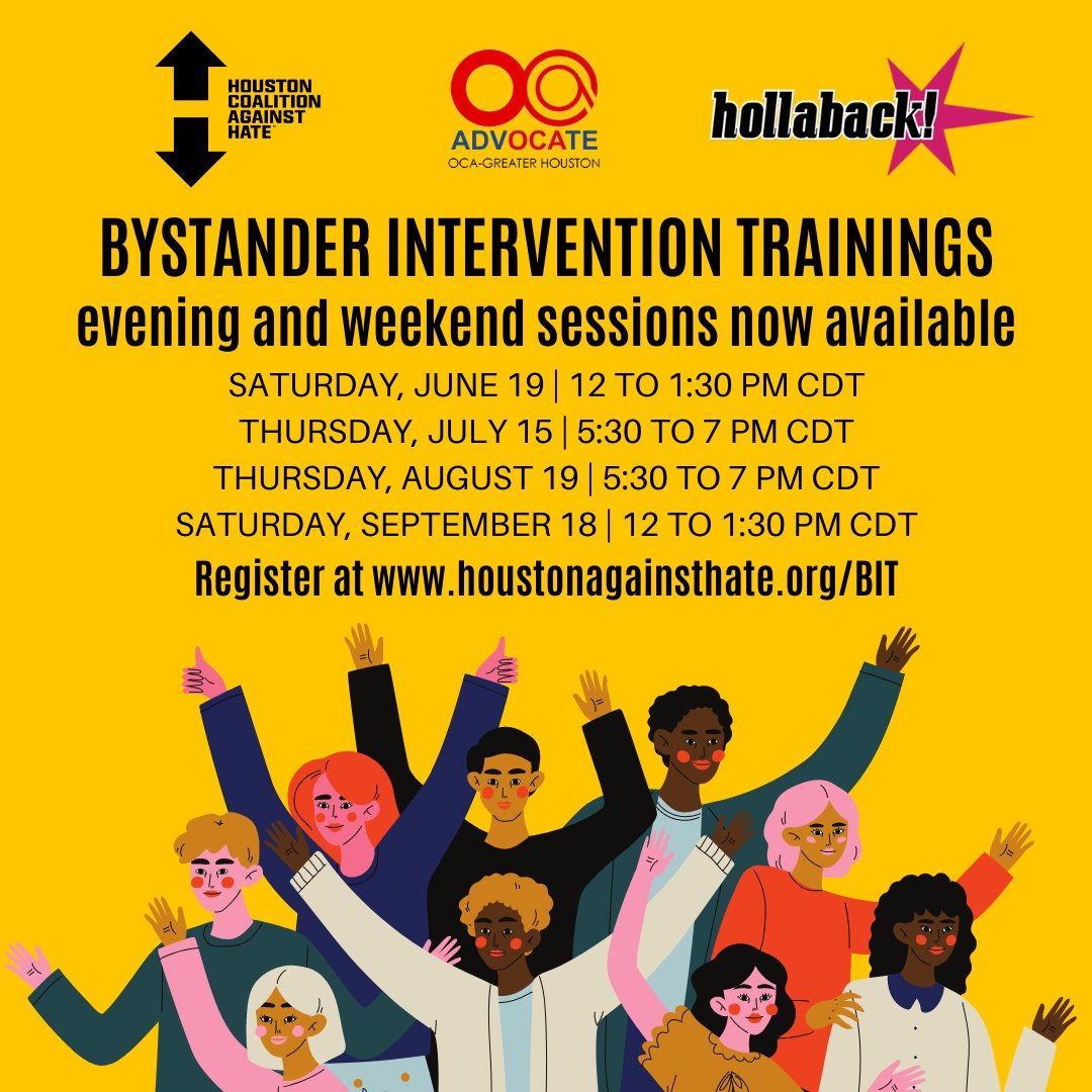 """.@nytimes recently reported that """"a surge in anti-Asian attacks during the pandemic is now holding back many Asian American families from joining the rest of the country in getting back to normal."""" Join a Bystander Intervention Training workshop June 19 » https://t.co/6e8PfUnEpY https://t.co/w83d2glF38"""