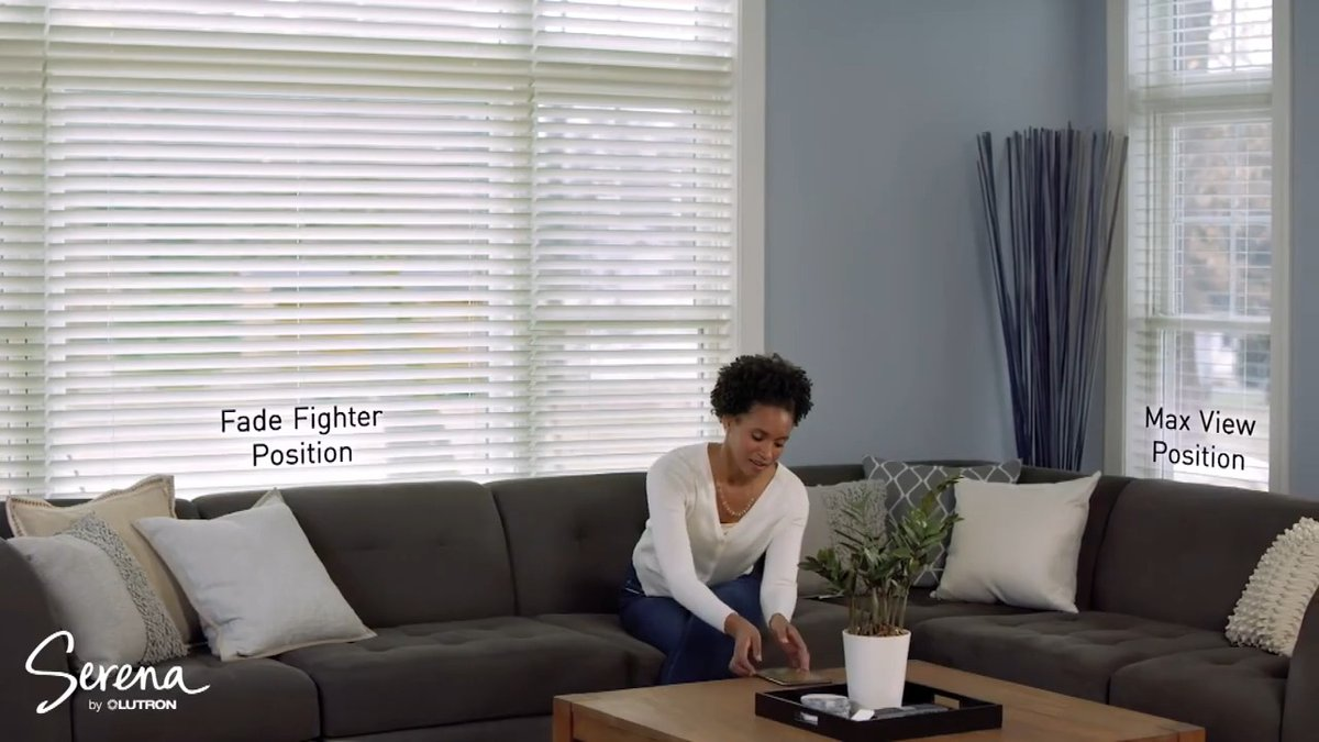 Meet Serena — the smarter way to let light in. With a gentle wake-up and easy turn down, and seamless scheduling, you can achieve the perfect balance of natural light, any time of day. Take a peek: https://t.co/rcaWE0KqeT