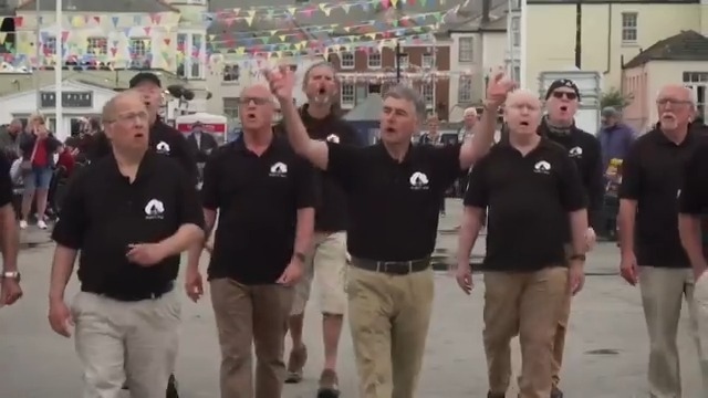 A singing group in Cornwall called Bryher's Boys is belting out traditional seafaring songs as the British beach town prepares to welcome world leaders for the G7 summit https://t.co/n0reews5XB https://t.co/f8JsR3L1Hv