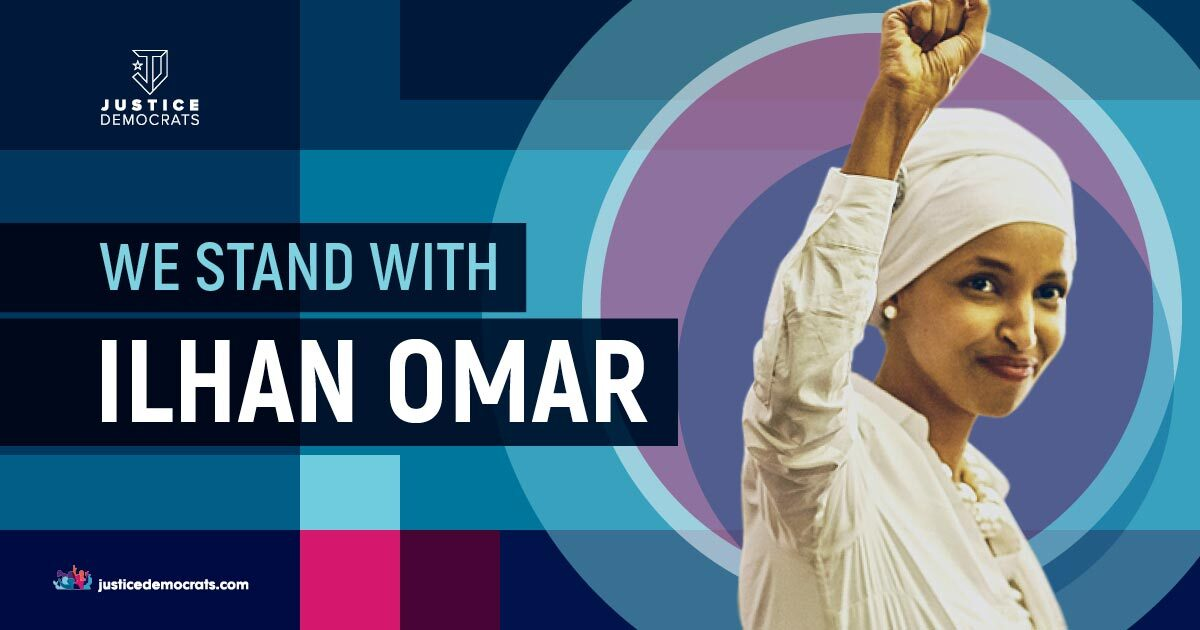@justicedems's photo on Ilhan Omar