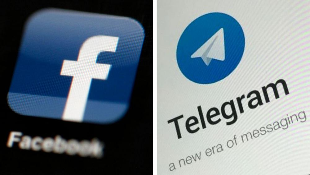 Russia fined Facebook, Telegram for unlawful content   TheHill Photo