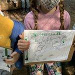Image for the Tweet beginning: Our @CaulfeildSchool Kindergarten kids investigation