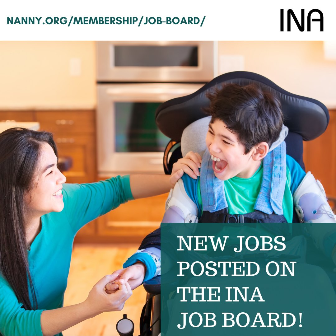 NEW JOBS POSTED ON THE INA JOB BOARD! You now have two ways to view! INA Member Job Postings Facebook page: https://t.co/8nmWkoI1AP OR Directly on our website at: https://t.co/X7lpZeDSSl https://t.co/fa4LnOZlRa