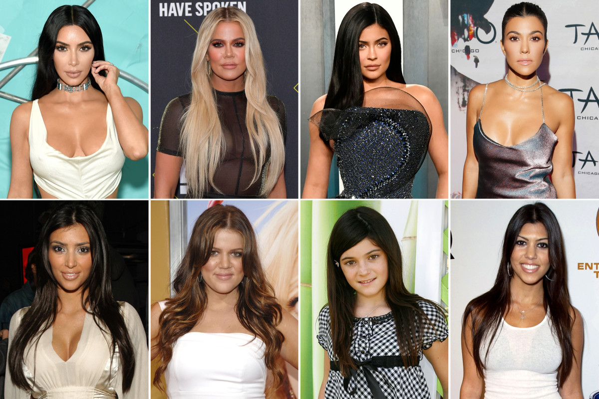 How the Kardashians and Jenners have changed over the years Photo