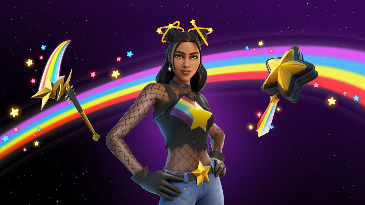 """If you're picking up the Star Skirmish set, or anything else from the item shop, consider using code """"GMatrixGames"""" #ad to support me! https://t.co/CplRMs8yI5"""