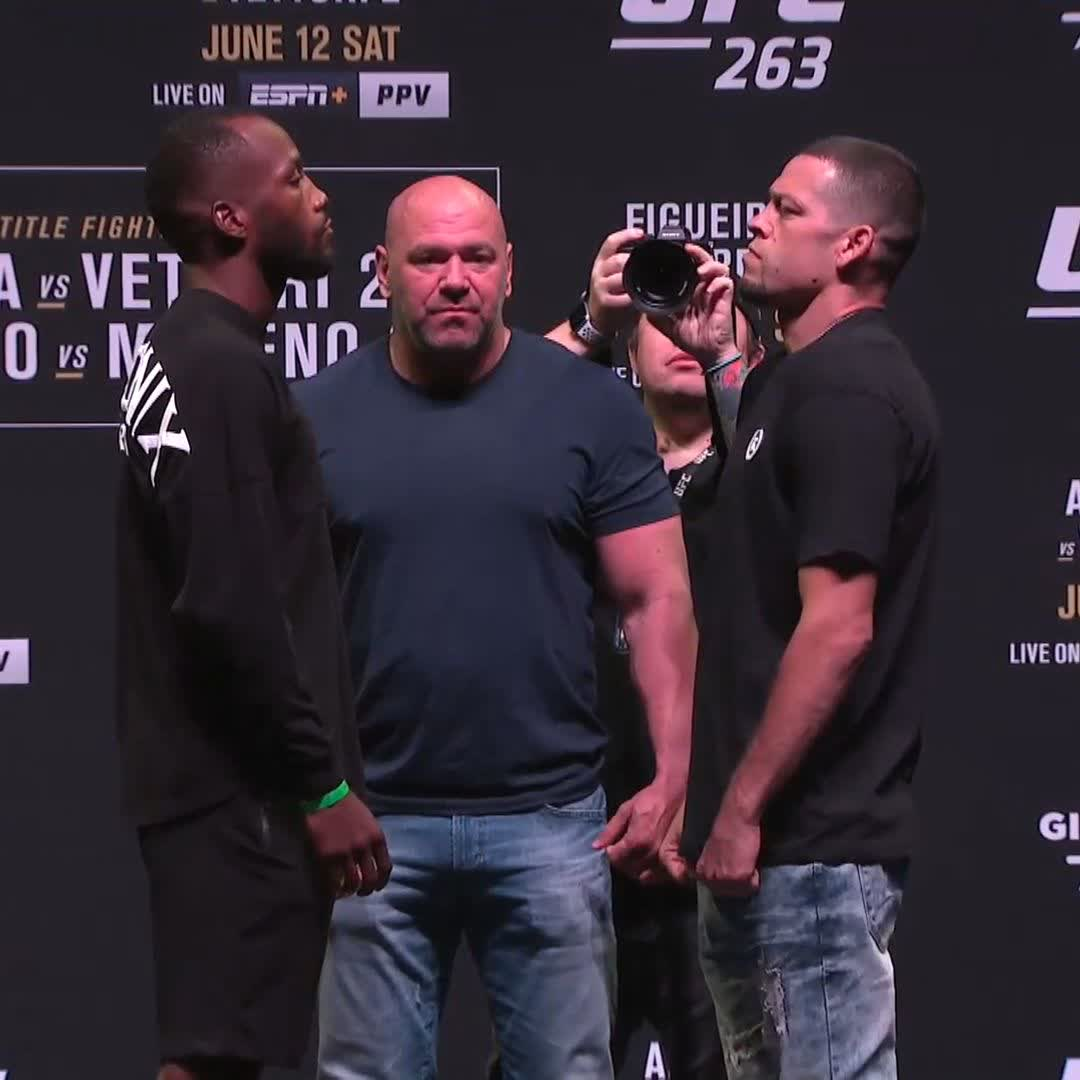 So good we HAD to make it five-rounds. 🤩  🇬🇧🇯🇲 @Leon_EdwardsMMA vs. 🤬 @NateDiaz209 is just days away! #UFC263 https://t.co/DYRO6ktvr5