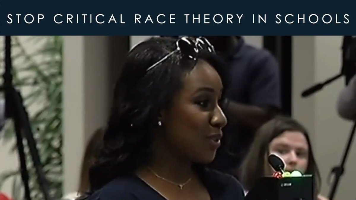"""""""It is sad that we are even contemplating something like Critical Race Theory, where children will be separated by their skin color and deemed permanently oppressors or oppressed in 2021."""" — Keisha King, mother of two, and member of @Moms4Liberty  #StopCriticalRaceTheory https://t.co/OFrfVJ13d7"""