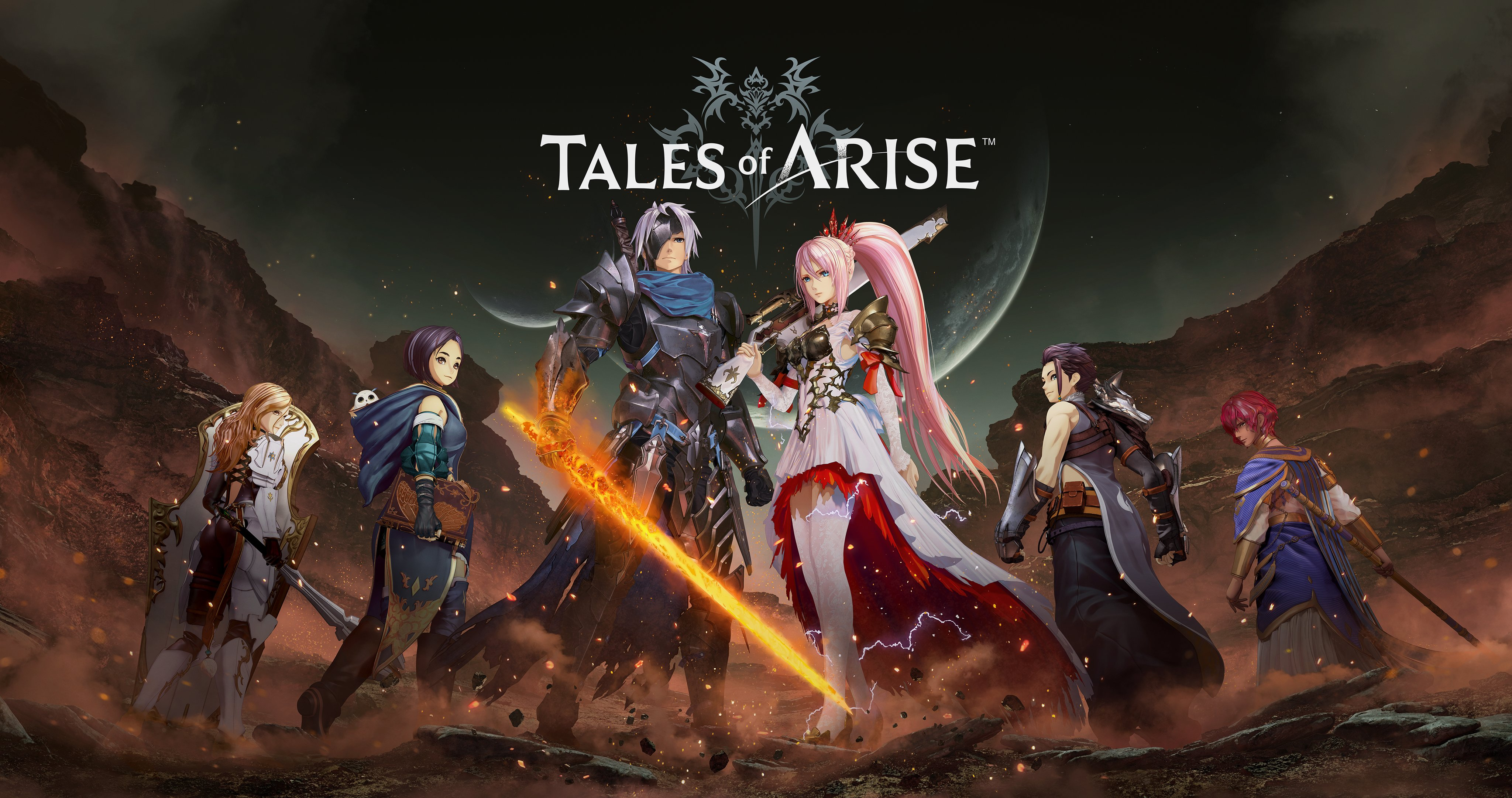 tales of arise main party