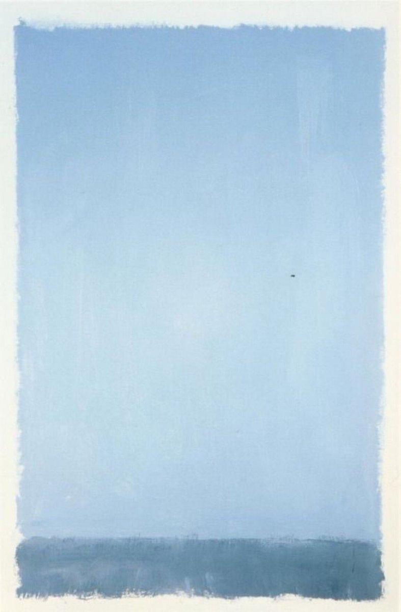 Mark Rothko Blue https://t.co/SF3uNgLNbl