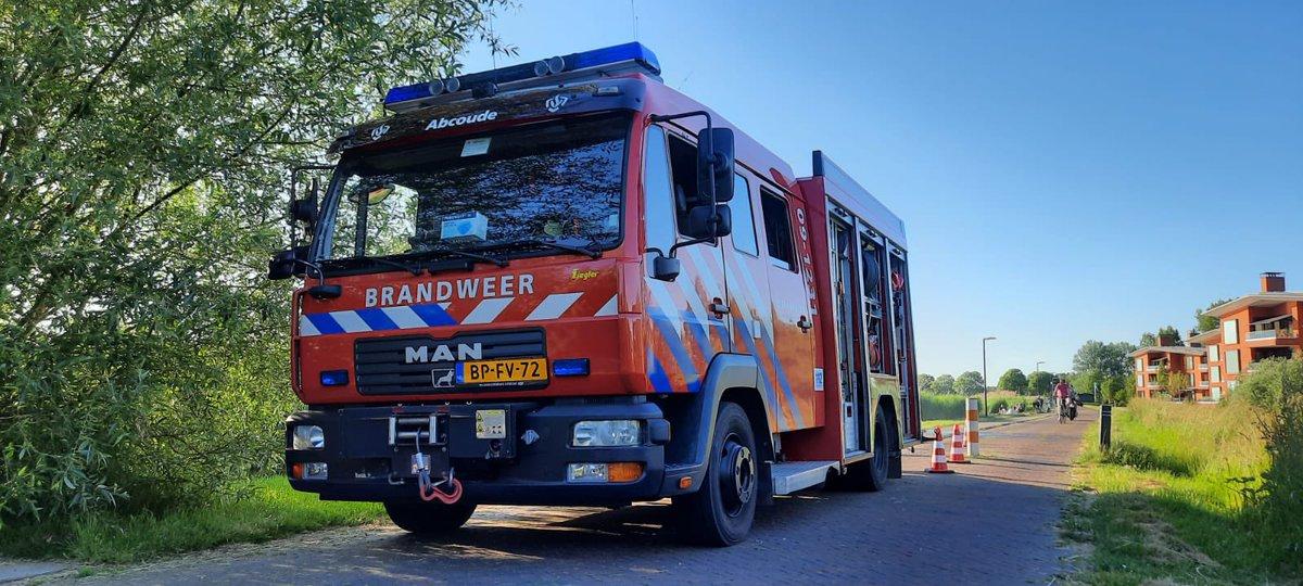 Melding brandweer Abcoudermeer Abcoude