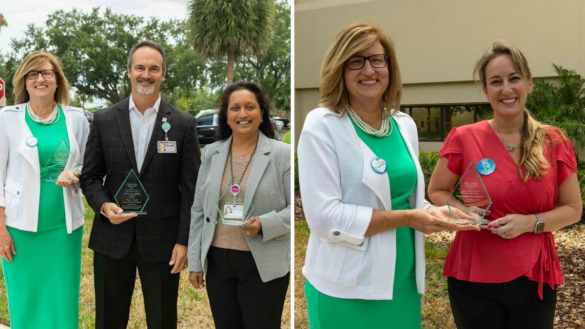 We celebrated #Community Health Improvement Week by recognizing Orlando Health South Seminole Hospital, Dr. Anita Ekambaram, and the Department of Health @SeminoleCounty for helping improve #health and #wellness in #Florida communities. #ChooseOrlandoHealth #CHIWeek https://t.co/gTCYyA7WHD
