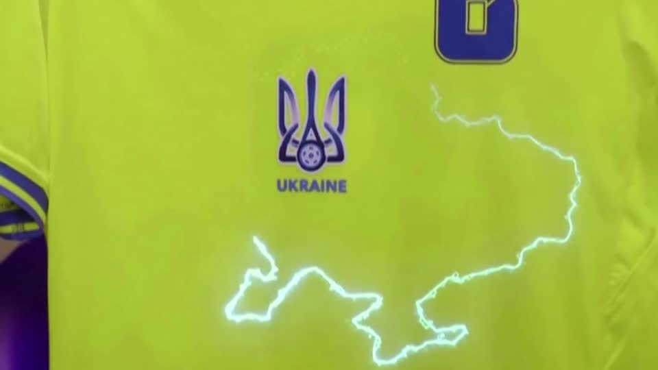 UEFA, European soccer's governing body, told Ukraine it could keep a map showing Crimea on its new national team soccer shirt despite objections from Russia. However, a slogan inside the uniform 'Glory to the heroes' needed to be removed https://t.co/V9WE9630zw https://t.co/Hj7csfYyBA