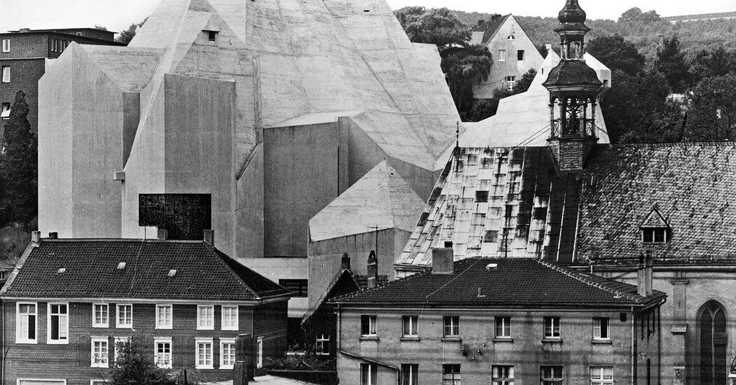 Gottfried Böhm, Master Architect in Concrete, Dies at 101 Photo