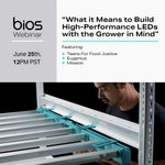 Join us Friday, June 25th for a can't miss webinar! In this webinar, we'll hear from three BIOS customers on how their unique operations are using BIOS lighting solutions. Followed by a special announcement of BIOS's new product releases!  - https://t.co/drg7p9VGgG