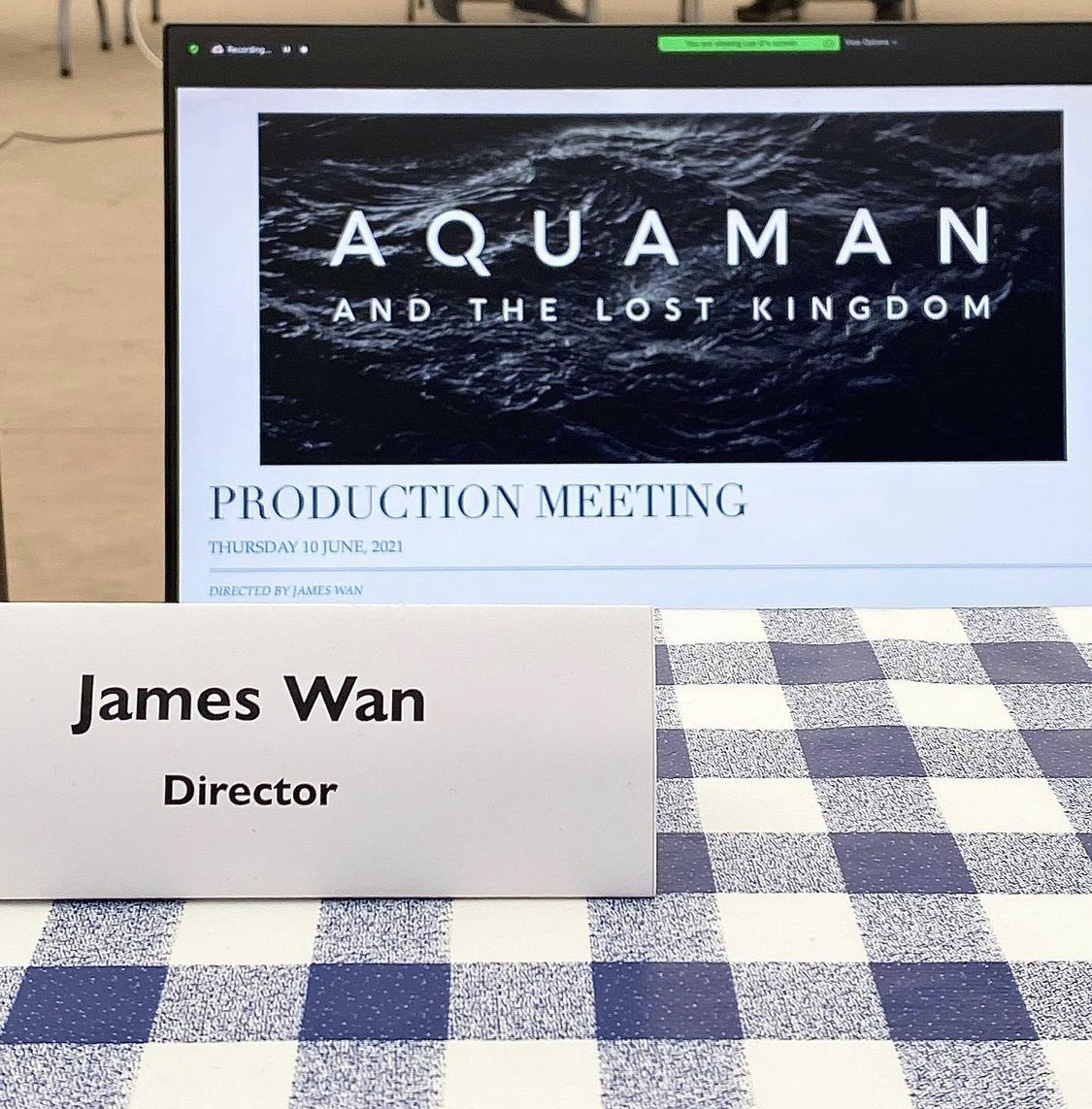 @DiscussingFilm's photo on Aquaman and the Lost Kingdom