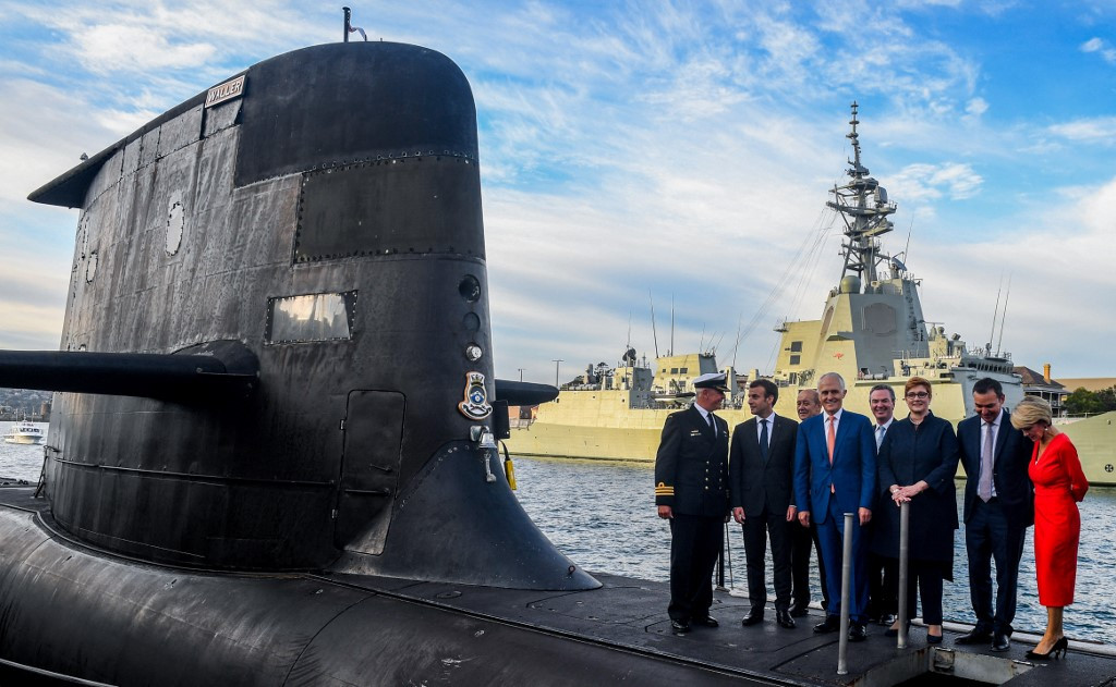 Australia to refit ageing submarines as doubts over new French fleet grow Photo