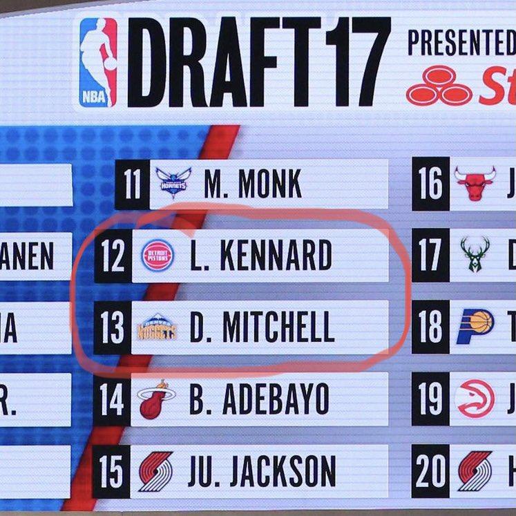 @NBA @utahjazz NBA draft decisions are weird https://t.co/c3DVRxwkya