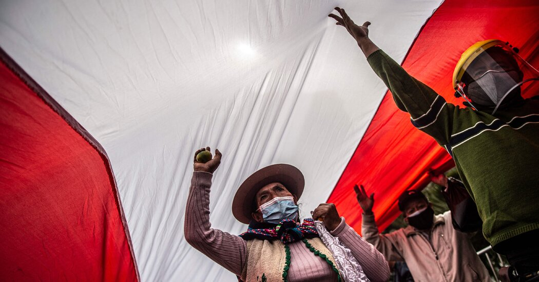 Peruvian Election, Still Undecided, Pushes a Democracy to Its Brink Photo