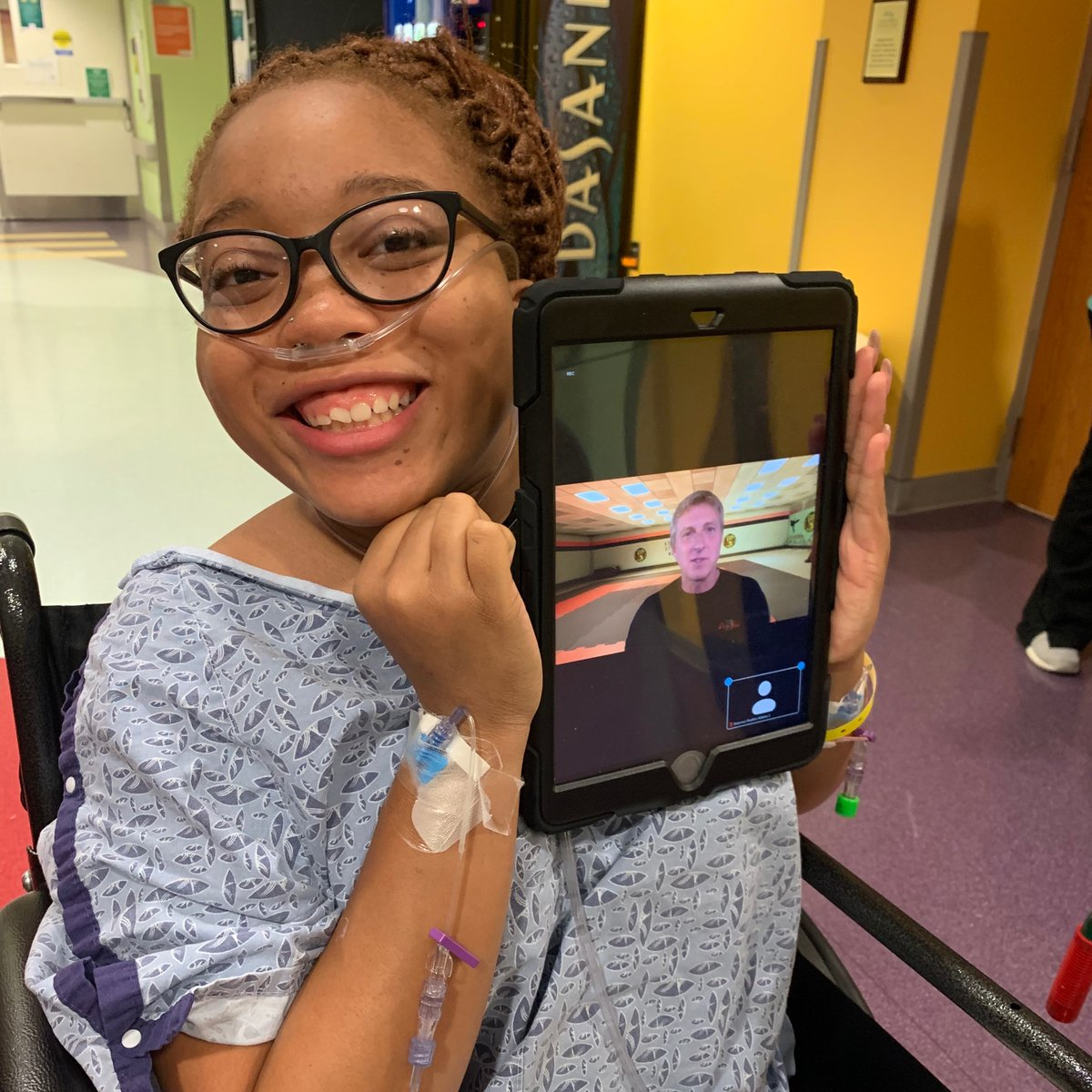 Thank you @WilliamZabka for reminding patients to believe in their potential. We loved chatting with you during this special virtual visit hosted by @CincyChildrens! https://t.co/7xEMCEu6GH