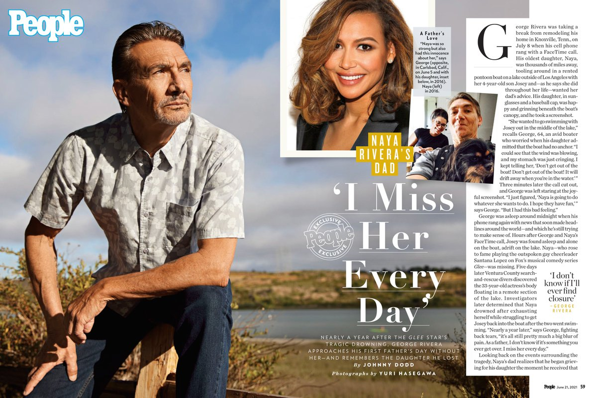 Guys, here is a little sample of the @People Article hitting news stands tomorrow / Friday!  Cover n all.  Go out a pick up a copy. @Nayarivera @GleeFans @NayaRivera_Team https://t.co/8ZKll2qxuS