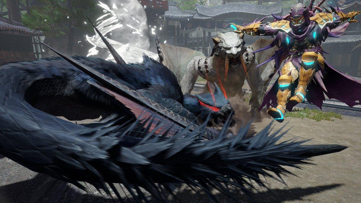 特別な称号が手に入る、『モンスターハンターライズ』のイベントクエスト「称号・シノビの心」が配信開始!   ナルガクルガやベリオロスなどの手強い相手を狩猟して、 ギルドカードに設定できる新たな称号を入手しよう!   capcom.co.jp/monsterhunter/… #モンハンライズ