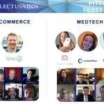 Image for the Tweet beginning: 🇦🇹 startups shine at @SelectUSATech