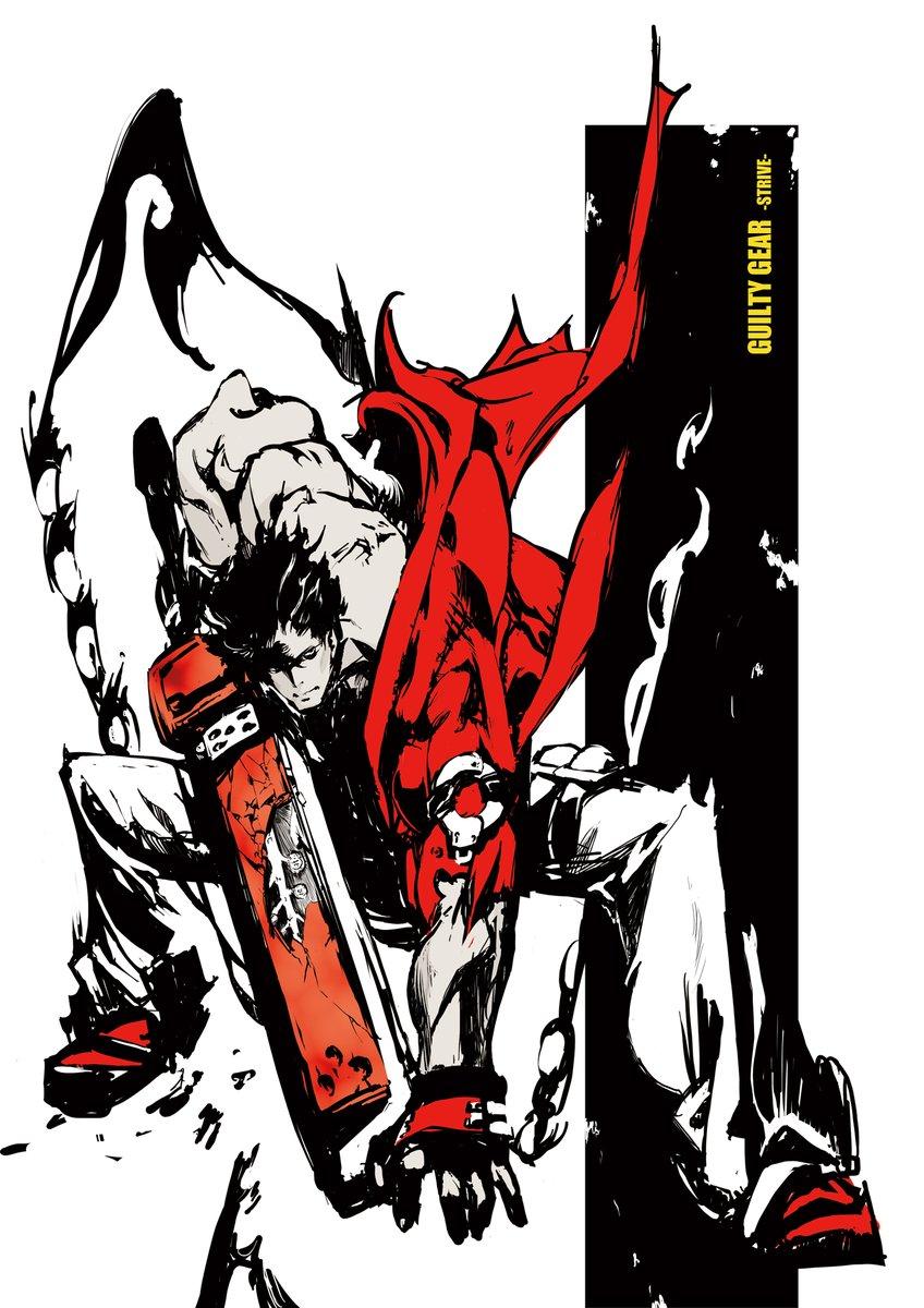 【 #GGST 発売記念企画】 『ギルティギア ストライヴ』本日全世界で発売!! Guilty Gear -Strive-, available NOW!  Heaven or Hell, Let's Rock!!  Illus. 石渡 太輔 / Daisuke Ishiwatari