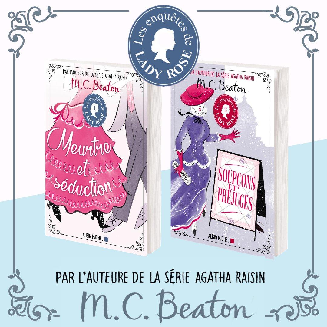 ✨Lady Rose, la nouvelle héroïne de M.C.Beaton, arrive en librairie! 👉Vous êtes fan de l'esprit caustique d'Agatha Raisin? Pour vous, Hamish MacBeth est comme un vieil ami? Alors nul doute que vous tomberez sous le charme de Lady Rose et de ses enquêtes! https://t.co/LvtVRkX5SW