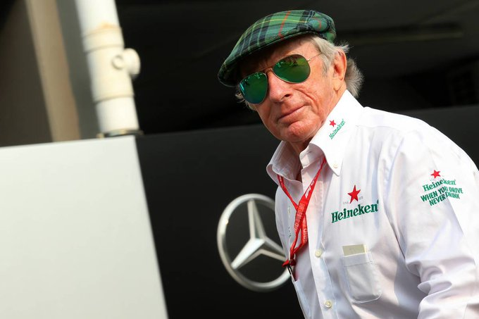 Happy Birthday to 3-time World Champion Sir Jackie Stewart!  He turns 82 today!