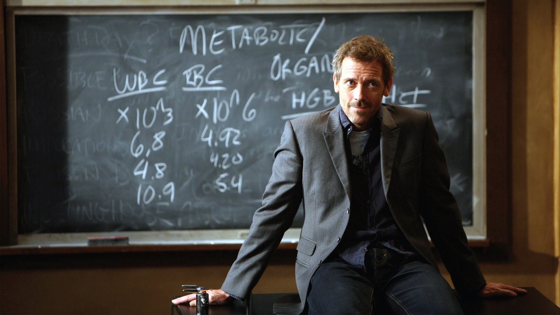 Happy 62nd birthday to Hugh Laurie.
