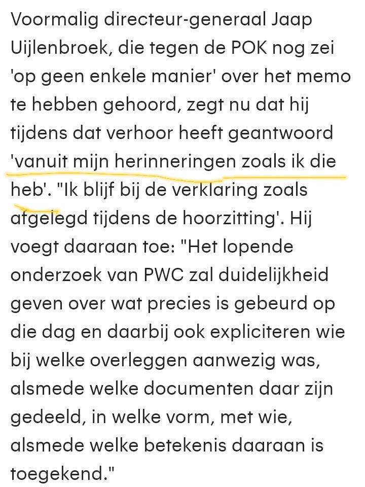 Dat in Den Haag weten ze wel hoe ze leugens moeten verkopen! ..