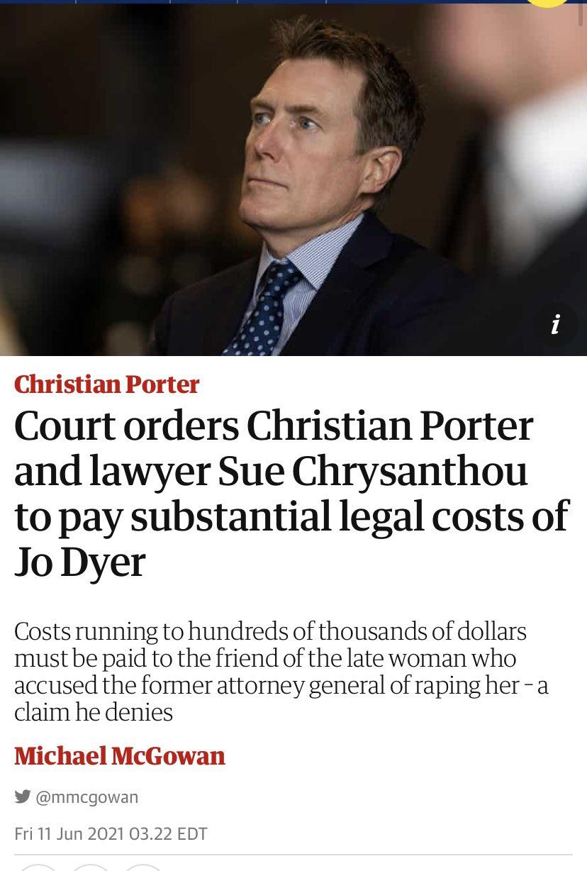 Christian Porter Photo,Christian Porter Twitter Trend : Most Popular Tweets