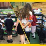 First day of our book fair! @scholasticuk @travellingbooks We are gearing up for a week of book-related events. #lovereading