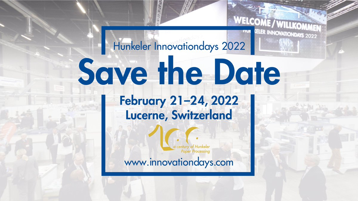 After a long hibernation from face-to-face events, we expect Innovationdays 2022 will be a perfectly-timed, high-energy launch pad for new print & finishing solutions that will take your production inkjet operations to the next level. Contact your Standard rep for more info.