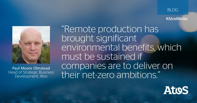 [#AtosMedia] 🍃 The #media industry's #carbon footprint has been seen to be offset by...