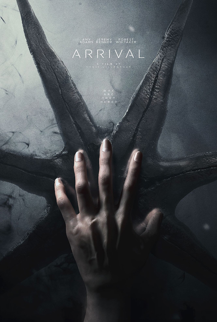 RT @CritHitEnt: Movie poster of the day: Arrival (by Ben Hewitt https://t.co/tBvGJyZ2sa) https://t.co/yonbLTgmEu