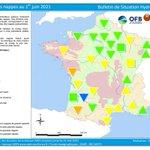 Image for the Tweet beginning: État des nappes d'#EauSouterraine au