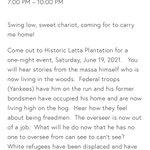 Image for the Tweet beginning: This morning Latta Plantation removed