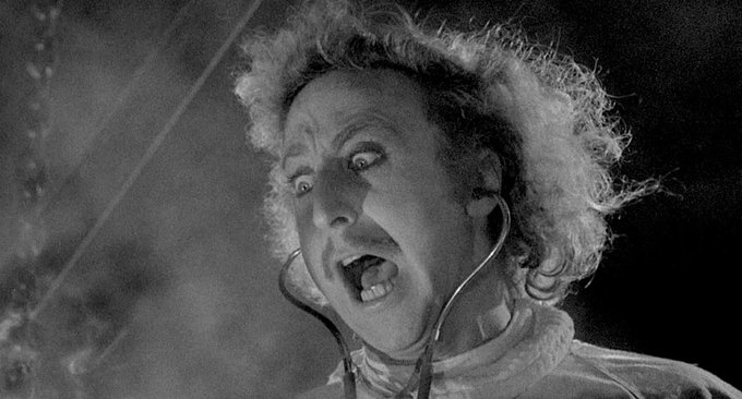 TODAY IS GENE WILDER DAY AND HIS DAY ONLY HAPPY BIRTHDAY LEGEND