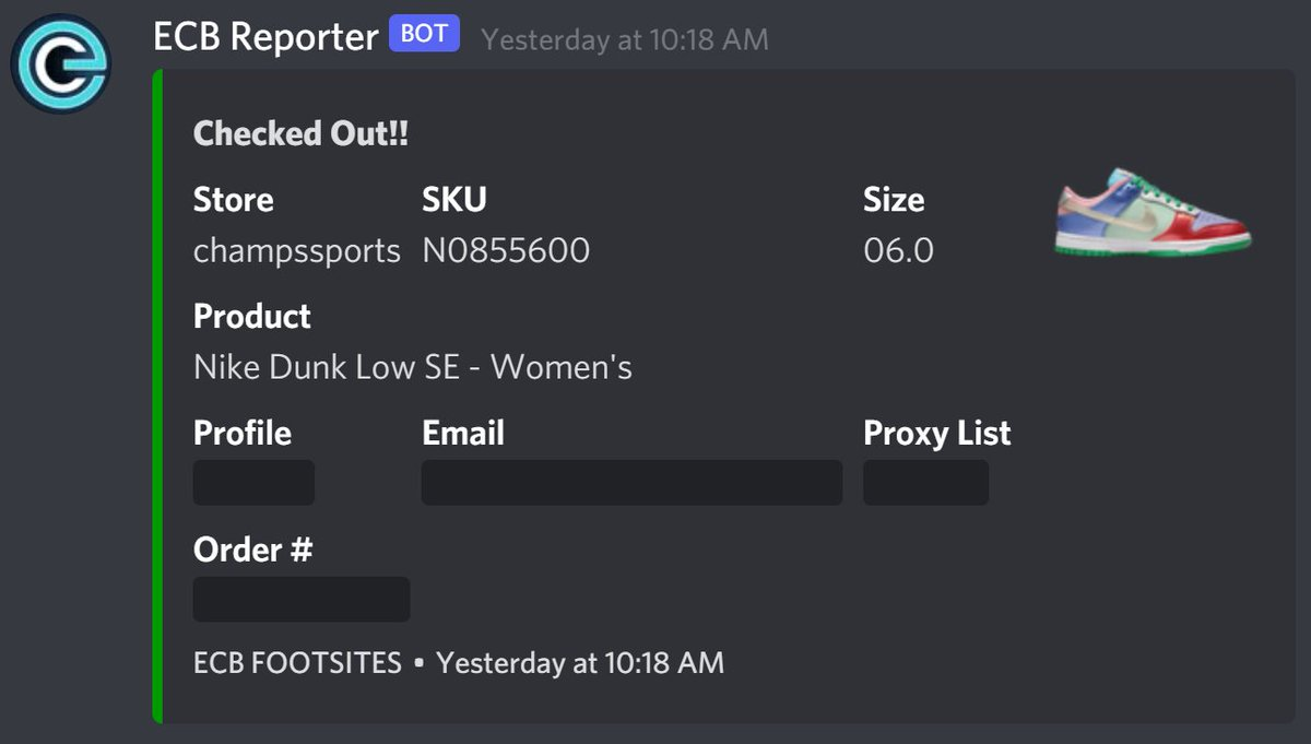 @NotifySquared Best community @EasyCopBots thanks for one small clip @AE86Proxies https://t.co/MUkdHRIcgX